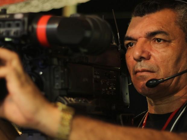 Cinegrafista José Lacerda tinha 50 anos e morreu neste domingo em Mossoró (Foto: Dibulgação/TCM)
