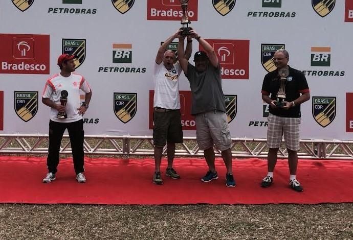 Premiação Brasileiro de remo (Foto: Guilherme Costa)