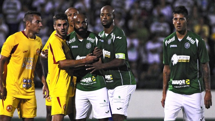 Guarani x Atlético Sorocaba Nunes Atacante Cris Zagueiro (Foto: Rodrigo Villalba / Divulgação Guarani)