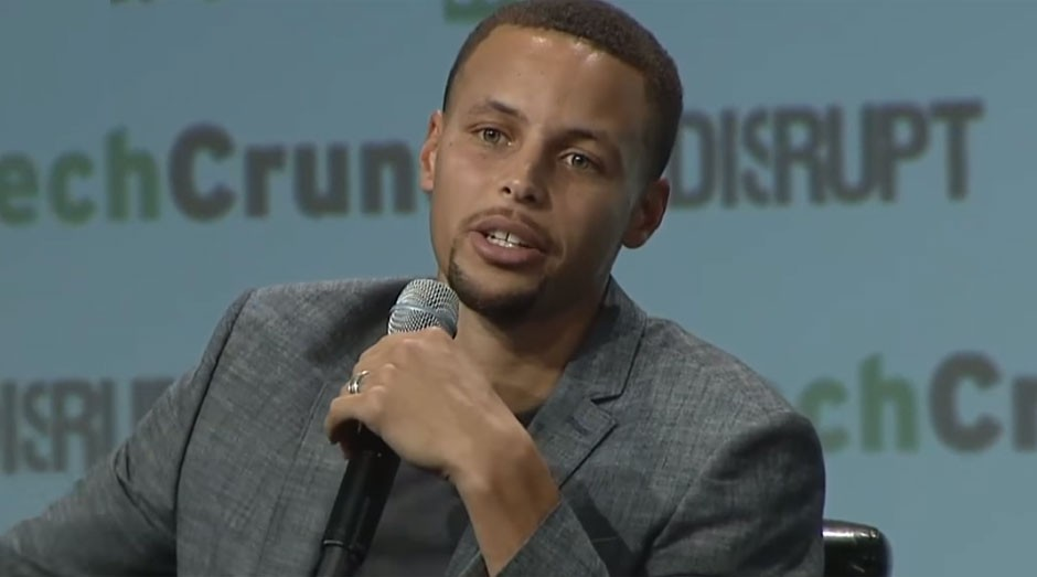 Stephen Curry, do Golden State Warriors: atleta, investidor e filantropo (Foto: Reprodução/TechCrunch)