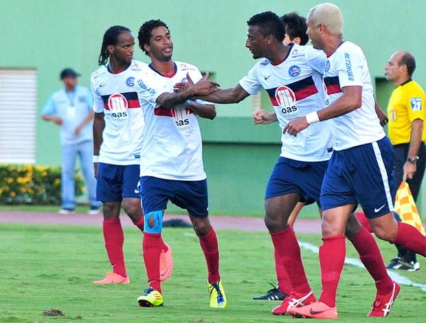 Comemoração Bahia x Sport (Foto: Erik Salles / Futura Press)