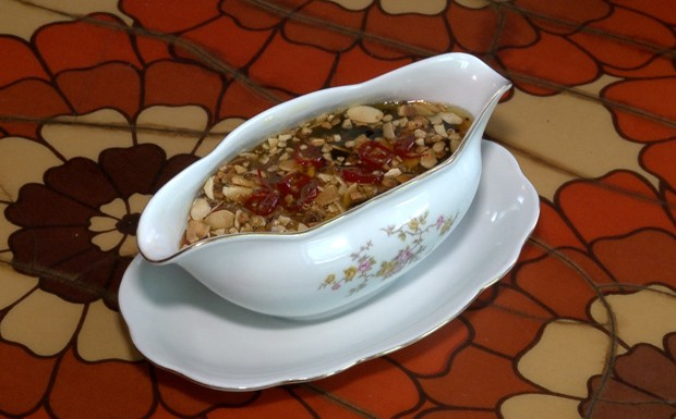 Molhos para tender - Caramelo de laranja da Roberta Ciasca  (Foto: Reproduo / GNT)