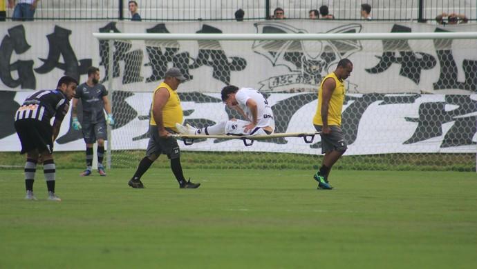 ABC x Botafogo-PB - Estádio Frasqueirão - Gustavo Bastos (Foto: Fabiano de Oliveira)