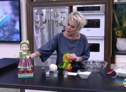 Ana Maria Braga ensina a fazer massa de biscuit