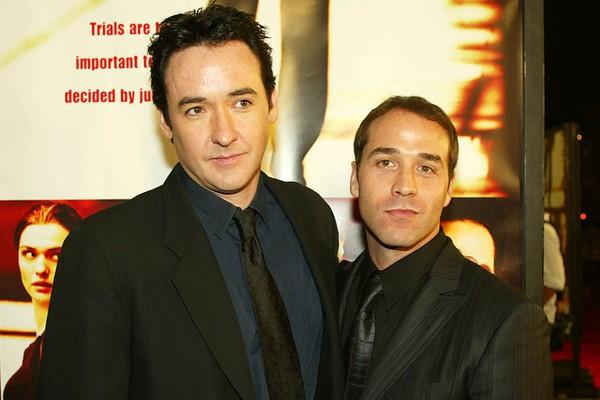 John Cusack e Jeremy Piven são ambos de Chicago e se apoiaram muito quando chegaram a Hollywood em busca de trabalho (Foto: Getty Images)