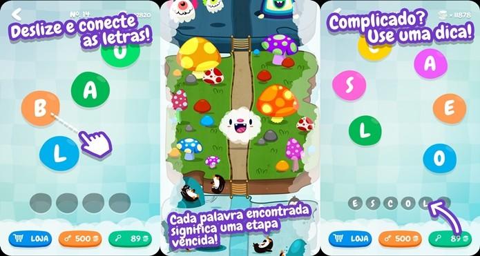 Divertido jogo com palavras é gratuito e todo em português (Foto: Divulgação)