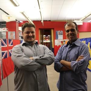 Os brasileiros Guilherme Bastos e Helcio Nobre, fundadores da Dabee (Foto: Divulgação)