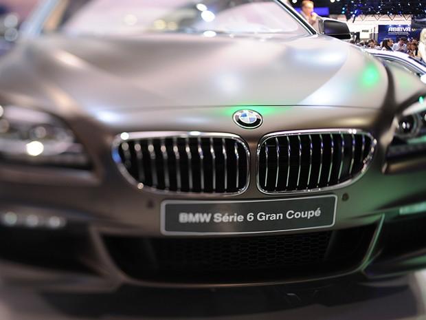 23 de outubro - BMW série 6 Gran Coupé (Foto: Raul Zito/G1)