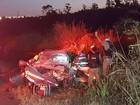 Cinco ficam feridos em acidente no anel viário (G1/G1)