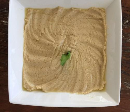 Pasta de grão de bico com tahine