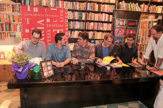 Lançamento do livro Tá no ar na Livraria da Travessa (Foto: Anderson Barros / EGO)
