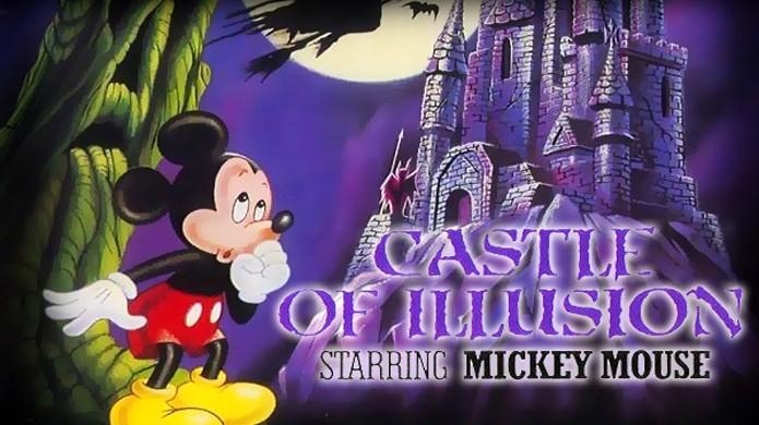 O clássico Castle of Illusion iniciou uma nova e brilhante fase para os jogos da Disney (Foto: Retro4Ever)