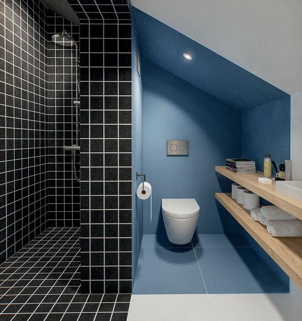 Banheiros contemporâneos com cara de spa (Foto: Int2 Architecture/Divulgação)