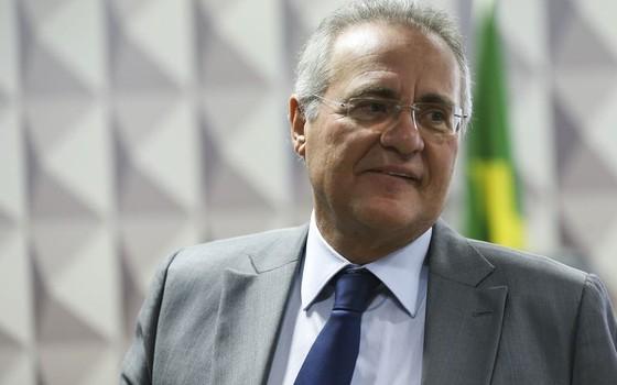 O senador Renan Calheiros (Foto: Marcelo Camargo/Agência Brasil)
