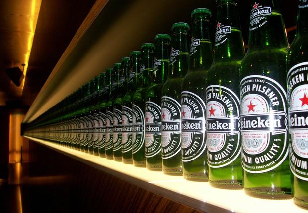 Cerveja Heineken (Foto: Reprodução/YouTube)
