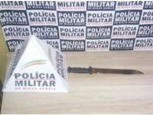 faca araxá (Foto: Polícia Militar/Divulgação)