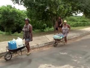Estiagem em Itabuna (Foto: Reprodução/TV Bahia)