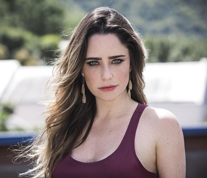 Fernanda pensa no fim de Bruna: 'Ser desmascarada e ter que arcar com as conseqüências' (Foto: Ellen Soares/Gshow)