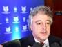 Nobre cita folha salarial e esfria chance de mais reforços no Palmeiras