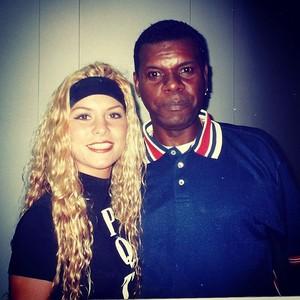 Bárbara Borges e Emílio Santiago (Foto: Instagram / Reprodução)