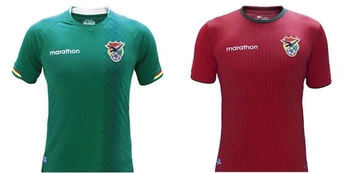 Camisa Bolívia Copa América Centenario