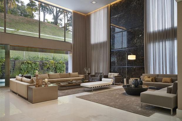 Casa espa osa marcada por luxo e modernidade casa vogue for Fachadas de casas modernas em belo horizonte