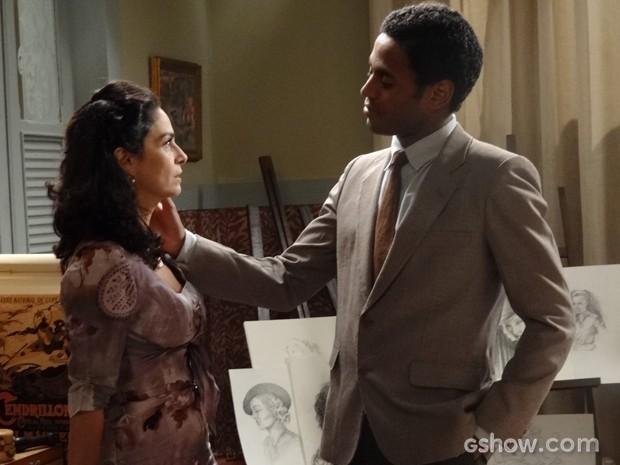 Será que os dois conseguirão ficar juntos? (Foto: Joia Rara/TV Globo)