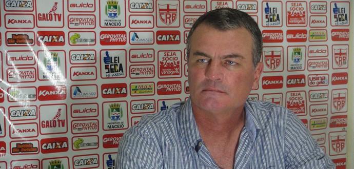 Mazola Júnior, CRB (Foto: Denison Roma / GloboEsporte.com)