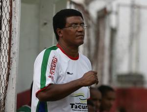 Samuel Cândido em treino do Independente (Foto: Marcelo Seabra/O Liberal)