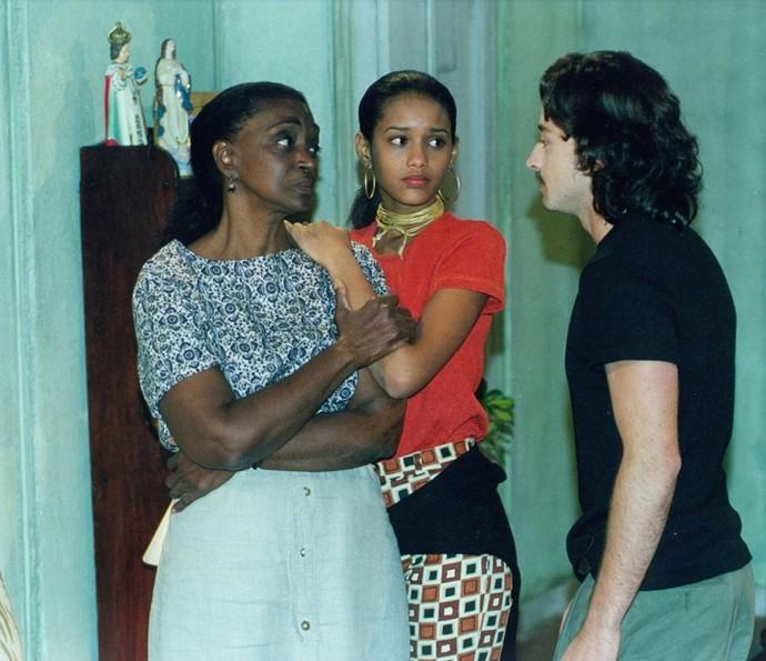 Taís Araújo como Vivian, de 'Anjo Mau' (Foto: CEDOC/TV Globo)