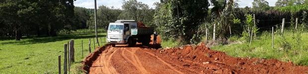 Prefeitura faz recuperação da estrada rural Sertãozinho em Agudos (editar título)