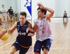 Bauru x Franca - jogo-treino de basquete (Foto: Lucas Diniz/Vivo Franca)