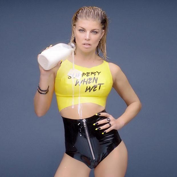 Fergie sensualiza em novo clipe (Foto: Instagram/ Reprodução)