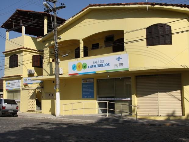 Sala do Empreendedor de Casimiro de Abreu (Foto: Vitor Nantes/Secom Casimiro de Abreu)