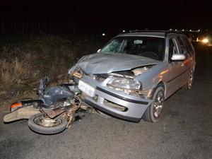 Acidente na PE-160 em Santa Cruz do Capibaribe (Foto: Divulgação/Blog Agreste Notícia)