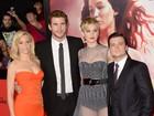 Jennifer Lawrence usa vestido transparente em première