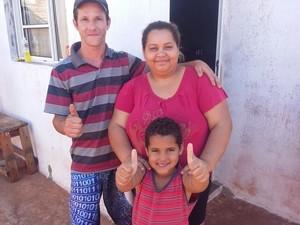 Família se desesperou com o desaparecimento (Foto: Alexandre Azank / TV TEM)