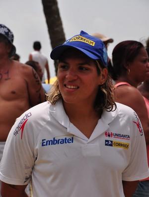 Ana Marcela Cunha é campeã brasileira de maratona aquática (Foto: Divulgação CBDA)