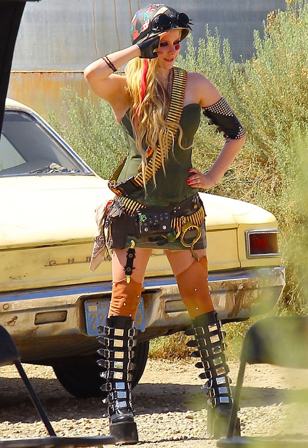 Avril Lavigne (Foto: Grosby Group)