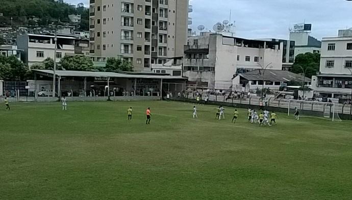 O Castelo venceu o Tupy-ES por 1 a 0, no Estádio Emílio Nemer, pela Série B 2016 (Foto: Divulgação/Tupy-ES)