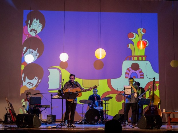 Músico Fabio Freire faz show especial para crianças com repertório dos Beatles (Foto: Divulgação)