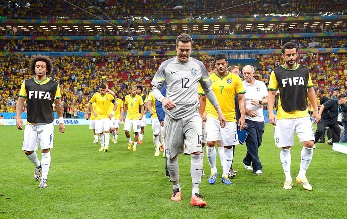 Brasil derrota jogo Holanda (Foto: Getty Images)