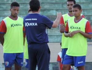 Yuri e Raul Silva, volantes do Grêmio Prudente (Foto: Murilo Rincon / GloboEsporte.com)