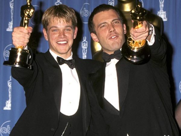 Os oscarizados Ben Affleck e Matt Damon (Foto: Divulgao)