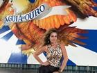 Luize Altenhofen vira musa na Águia de Ouro em São Paulo