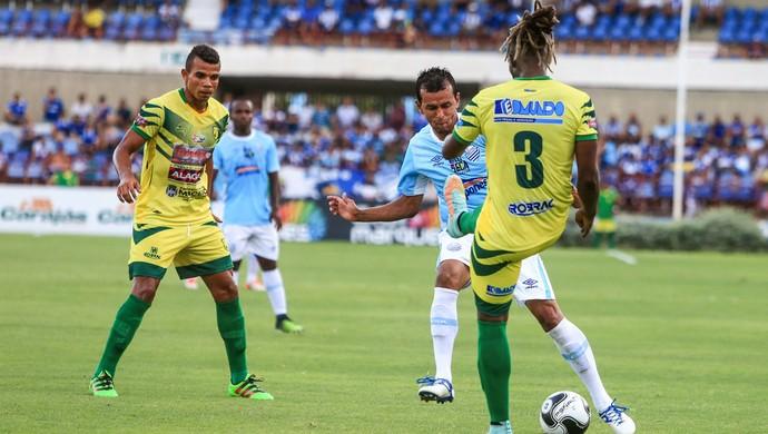 Sete de Setembro x CSA, no Rei Pelé (Foto: Ailton Cruz / Gazeta de Alagoas)