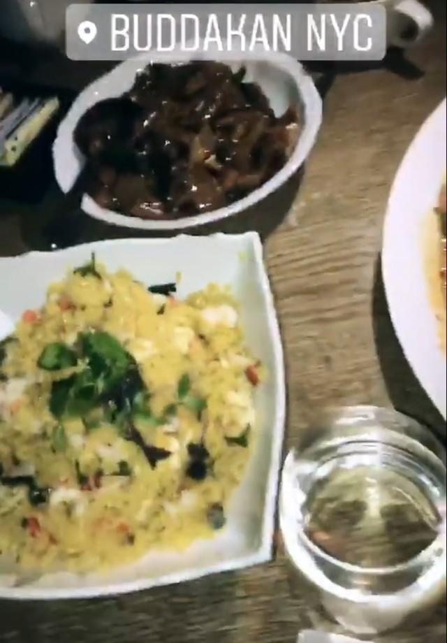 Pratos escolhidos por Sasha, Bruna e seus amigos (Foto: Instagram/Reprodução)