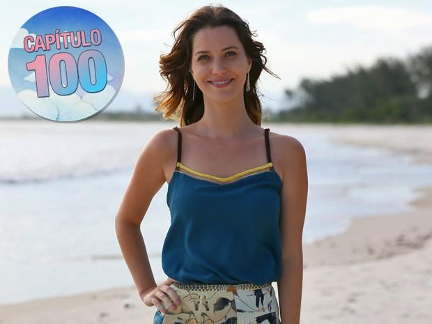Nathalia Dill faz balanço dos 100 capítulos de Alto Astral e revela desejo em ser mãe (Foto: Isabella Pinheiro/ Gshow)