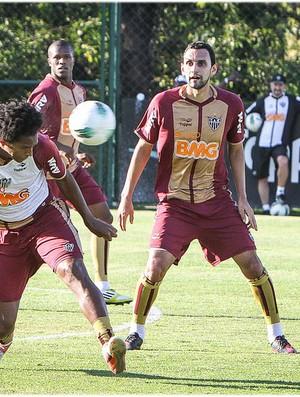 Rafael Marques será titular diante do Figueirense (Foto: Bruno Cantini / Site Oficial do Atlético-MG)