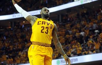 Cavs varrem os Hawks, e LeBron chega à quinta final seguida da NBA